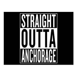 Cartão Postal outta reto Anchorage