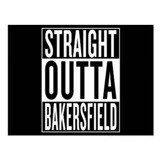 Cartão Postal outta reto Bakersfield