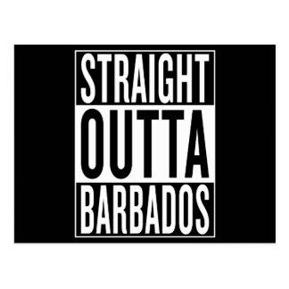Cartão Postal outta reto Barbados