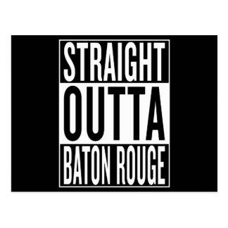 Cartão Postal outta reto Baton Rouge