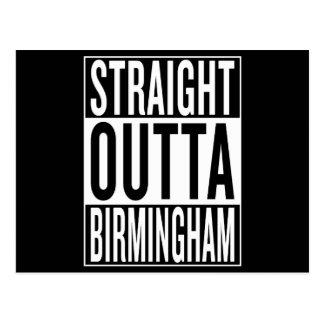 Cartão Postal outta reto Birmingham
