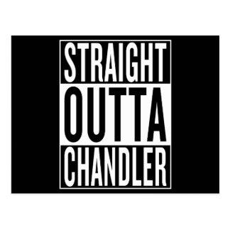 Cartão Postal outta reto Chandler