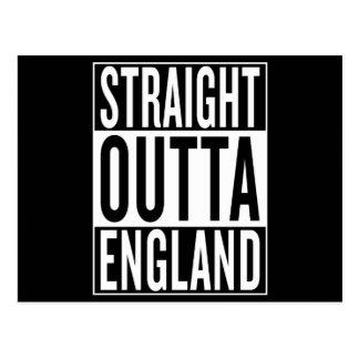 Cartão Postal outta reto Inglaterra