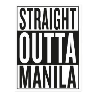 Cartão Postal outta reto Manila
