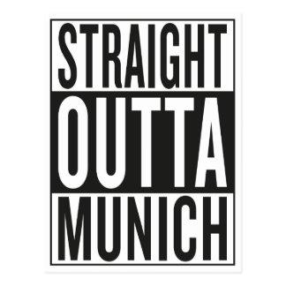 Cartão Postal outta reto Munich