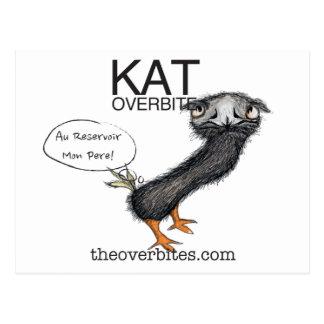Cartão Postal Overbite do Kat