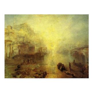 Cartão Postal Ovid Banished de Roma