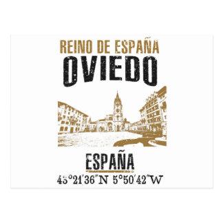 Cartão Postal Oviedo