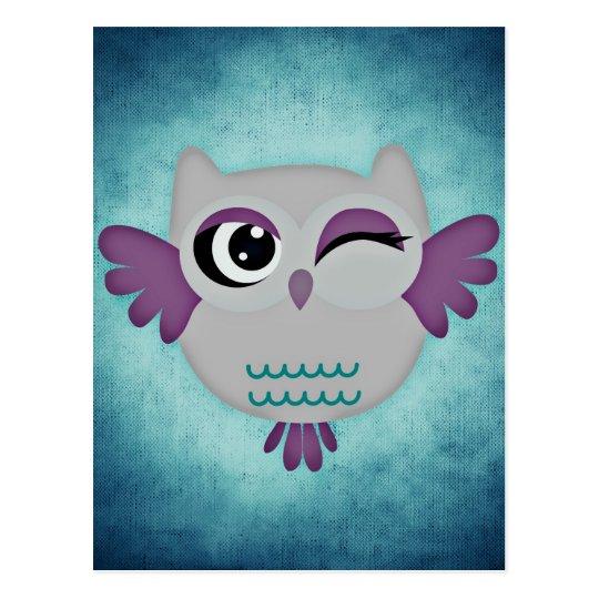 Cartão Postal owl