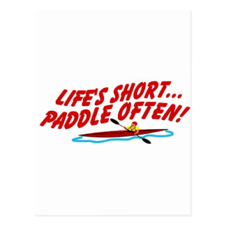 Cartão Postal Pá curta de Lifes frequentemente