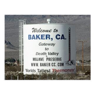 Cartão Postal Padeiro, CA