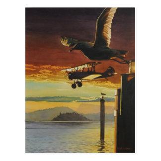 Cartão Postal Padrões de aterragem por aws de Paul Jackson, nws