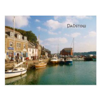 Cartão Postal Padstow Cornualha Inglaterra