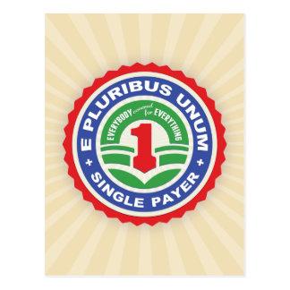 Cartão Postal Pagador de E Pluribus Unum
