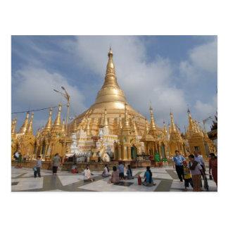Cartão Postal Pagode de Shwe Dagon