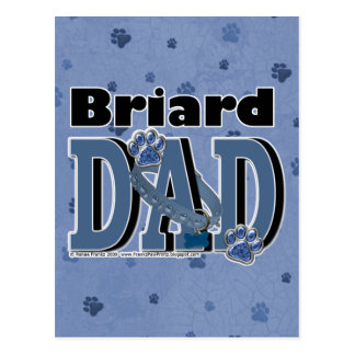 Cartão Postal PAI de Briard
