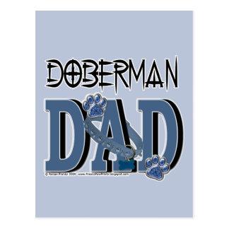 Cartão Postal PAI do Doberman