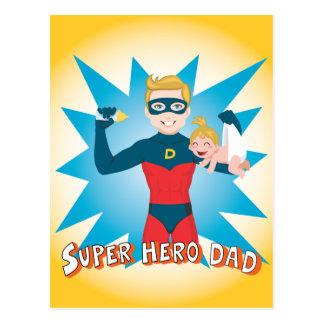 Cartão Postal Pai do super-herói