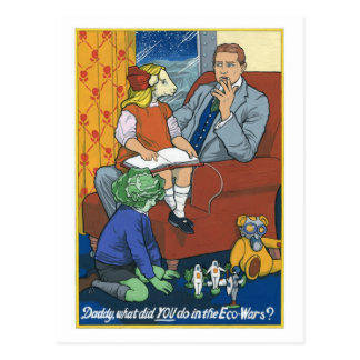 Cartão Postal Pai, que VOCÊ fez no Ecowars?