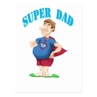 Cartão Postal Pai super