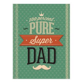 Cartão Postal Pai super de Duper