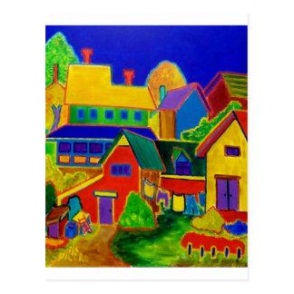 Cartão Postal País 3 do Expressionism