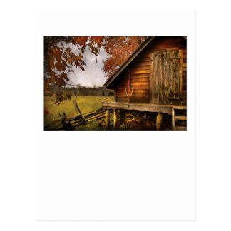 Cartão Postal País - da vertente parte traseira para fora