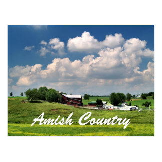 Cartão Postal País de Amish