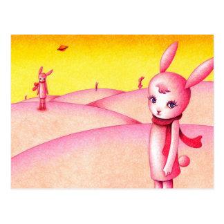 Cartão Postal País do coelho