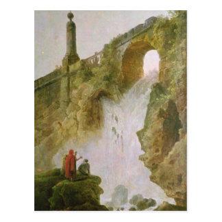 Cartão Postal Paisagem, a cachoeira
