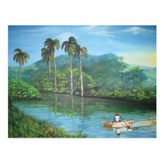 Cartão Postal Paisagem cubana