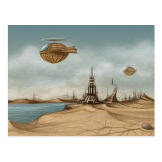 Cartão Postal Paisagem da fantasia