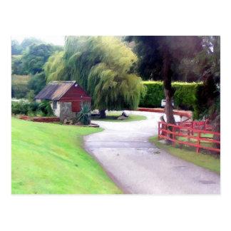 Cartão Postal Paisagem de Cornualha, Inglaterra