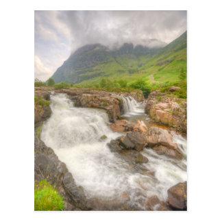 Cartão Postal Paisagem de Glencoe