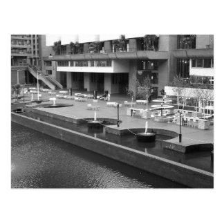 Cartão Postal Paisagem do centro do Barbican