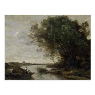 Cartão Postal Paisagem do rio