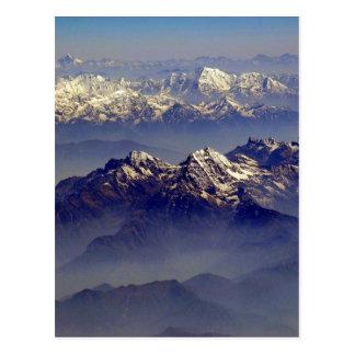 Cartão Postal Paisagem dos Himalayas