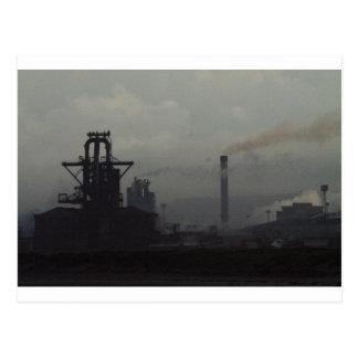 Cartão Postal Paisagem industrial, Redcar
