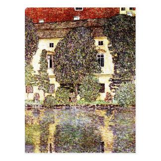 Cartão Postal Paisagem legal - Gustavo Klimt