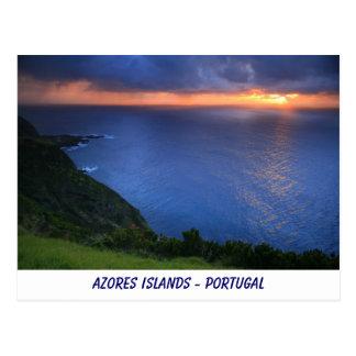 Cartão Postal Paisagem litoral