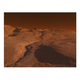 Cartão Postal Paisagem marciana