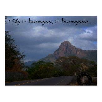 Cartão Postal Paisagem nicaraguense