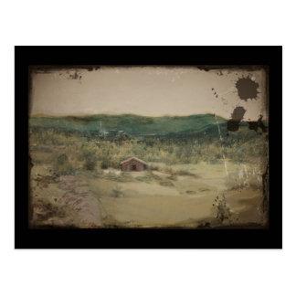 Cartão Postal Paisagem ou Landskap