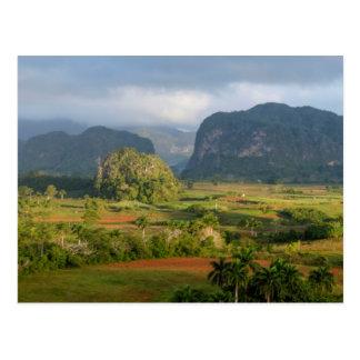 Cartão Postal Paisagem panorâmico do vale, Cuba