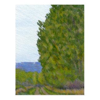 Cartão Postal Paisagem rural de Colorado do campo