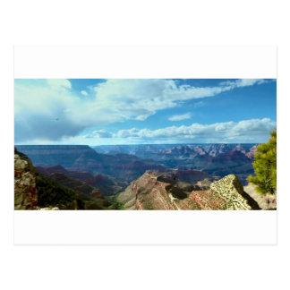 Cartão Postal Paisagens americanas das cordilheiras do Grand