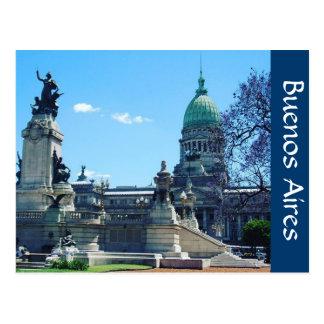 Cartão Postal palacio Buenos Aires
