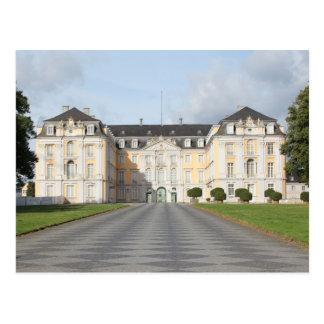 Cartão Postal Palácio de Augustusburg em Brühl, Alemanha