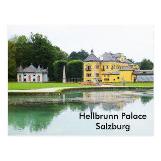 Cartão Postal Palácio de Hellbrunn
