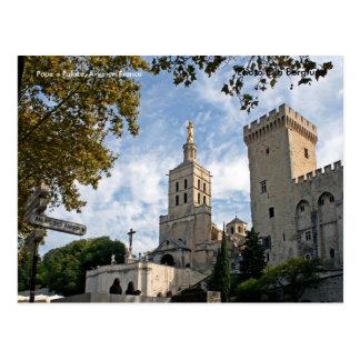 Cartão Postal Palácio de Pope´s, Avignon France, P…